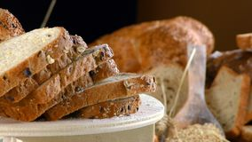 Köstliches frisches Brot-Lebensmittel-Konzept Lizenzfreie Stockbilder
