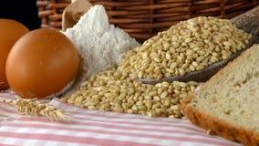 Köstliches frisches Brot-Lebensmittel-Konzept Stockfotografie