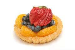 Köstliches Fruchttörtchen stockbilder