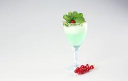 Köstliches grünes Cocktail Lizenzfreies Stockbild