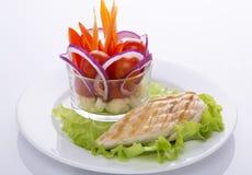 Köstliches Lebensmittel für eine große Zahl Stockfoto