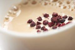 Köstliches Lebensmittel und Tee Lizenzfreie Stockfotografie