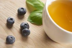 Köstliches Lebensmittel und Tee Stockbilder