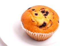 Köstliches Muffin der Schwarzen Johannisbeere Stockbilder