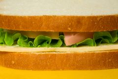 Köstliches Sandwich stockfoto