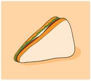 Köstliches Sandwich Lizenzfreies Stockfoto
