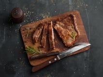 Köstliches Steak Stockfotos