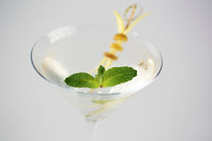 Köstliches transparentes Cocktail Stockfotos