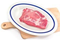 Kött för griskötthalskotlett Royaltyfri Foto