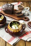Kött i Clay Pot Royaltyfri Foto
