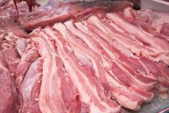 Kött i marknad Royaltyfri Bild