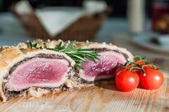 Köttfärslimpa Arkivfoto