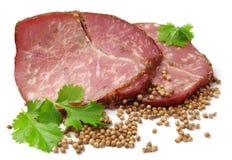 köttfärslimpastycke Arkivfoton