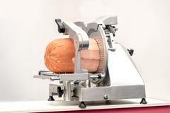 Köttförskäraremortadella Royaltyfria Foton
