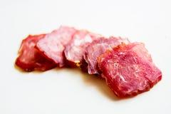 Köttkorv Fotografering för Bildbyråer