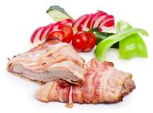 Köttmatställe Arkivfoto