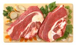 Köttnötkött royaltyfri foto