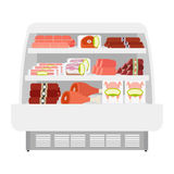 Köttprodukter i lager Arkivbilder