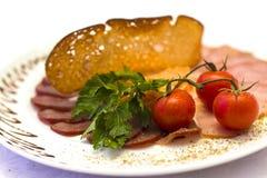 Kötträtt för en bankett Royaltyfri Fotografi