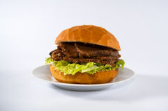 Köttsmörgås Fotografering för Bildbyråer