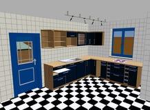 Küche übertragen lizenzfreie abbildung