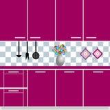 Küche stock abbildung