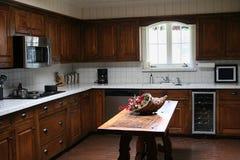 Küche-Ansicht Lizenzfreies Stockfoto