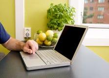 Küche-Computer Stockbild