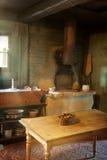 Küche des 19. Jahrhunderts Stockfotografie