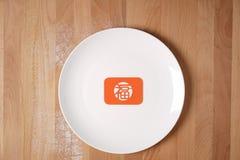 Küche, die sich vorbereitet, chinesische festliche Waren zu machen Stockfotografie