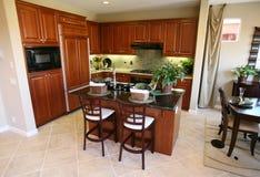 Küche-Innenraum Lizenzfreie Stockfotografie