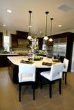 Küche-Innenraum stockbild