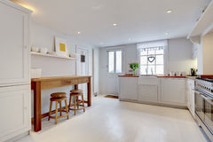 Küche-Innenraum Stockfotografie