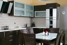 Küche itnerior stockfoto