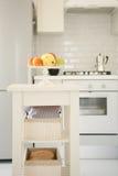 Küche mit Früchten Lizenzfreie Stockbilder