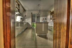 Küche modernes HDR Lizenzfreie Stockfotos