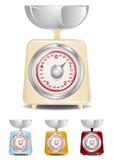 Küche-Skala Stockfoto