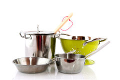 Kücheausrüstung Stockbild