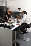 Küchechemie Stockfotos