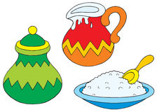 Küchegeräte stock abbildung