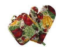 Küchehandschuh für Schutz Stockbilder