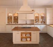 Kücheinnenraum. Stockfoto