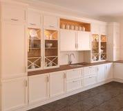 Kücheinnenraum. Lizenzfreies Stockfoto