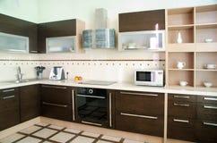 Kücheinnenraum stockfotografie
