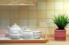 Kücheinnenraum Stockbild
