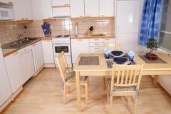 Kücheinnenraumdetail stockbild