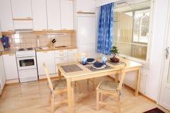 Kücheinnenraumdetail stockfotografie