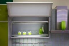 Küchekabinett Stockbild