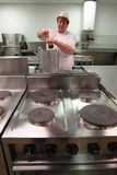 Küchekochen Lizenzfreies Stockbild