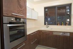 Kücheluxuxauslegung Stockbilder